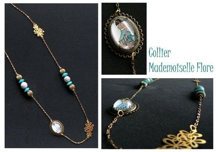 collier mademoiselle flore