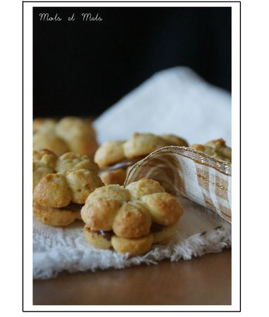 Biscuits noisettes-chocolat 1