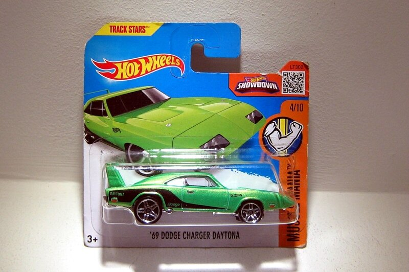 Dodge charger daytona de 1969 (Hotwheels)