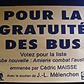 Pour la gratuité des bus avec Cédric Maisse
