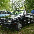 Renault - amc alliance gta 2.0l cabriolet 1987