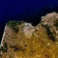 Photo satellite de Tanger