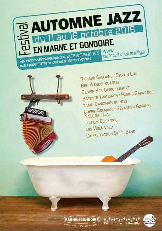 Festival Automne Jazz en Marne et Gondoire 2016