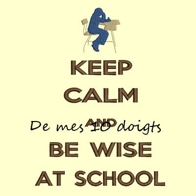 keepCalmSchool