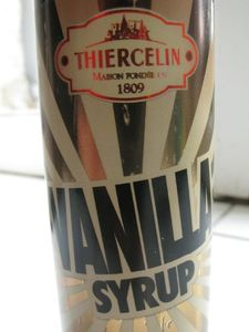 sirop de vanille