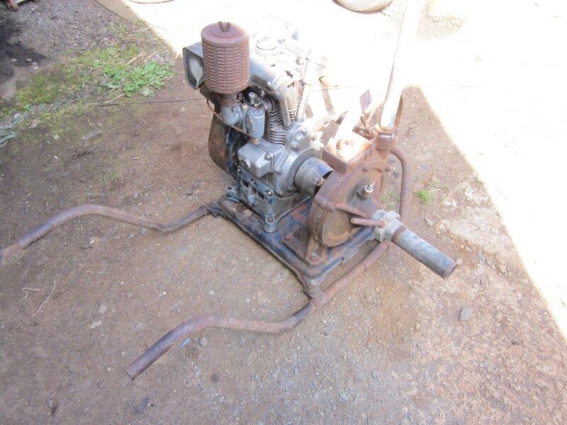 Restauration moto-pompe CL CONORD.