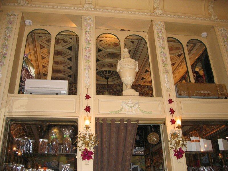 intérieur salon de thé Meert