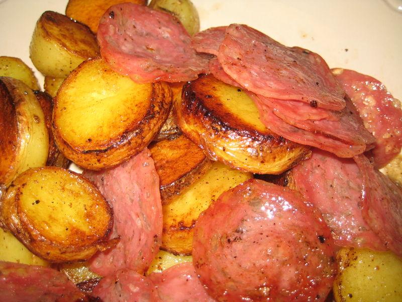 Po l e pommes de terre saucisson la cuisine de plume - Cuisine de pomme de terre ...