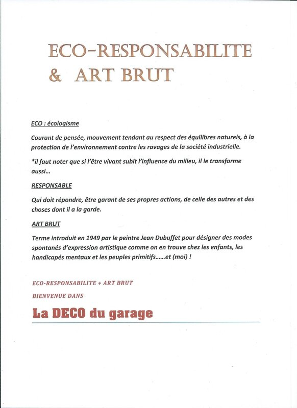 ECO RESPONSSABILITE & ART BRUT 001