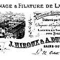 SAINS DU NORD-Filature Hiroux & Dupont