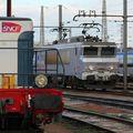 BB 7214 'fantôme' dans le dépôt de Bordeaux