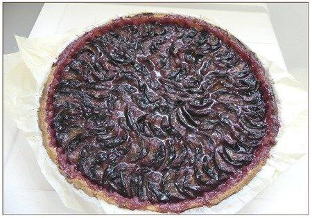 tarte aux prunes rouges15