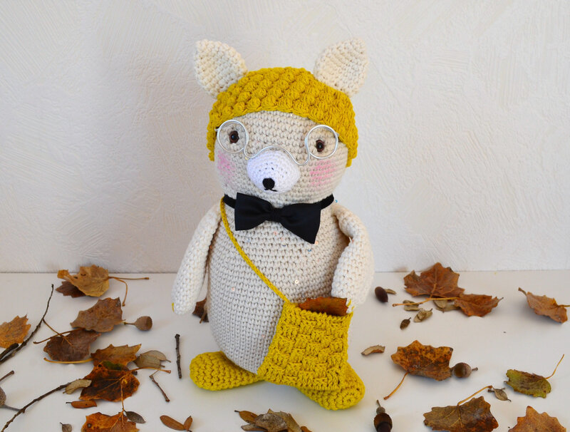 Gedeon; crochet; laine; amigurumi; La chouette bricole (18)