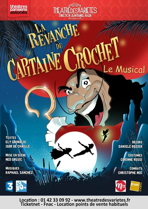 LA REVANCHE DU CAPITAINE CROCHET : Le Musical