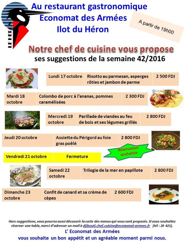 2016-10-12 - Suggestions du chef S42