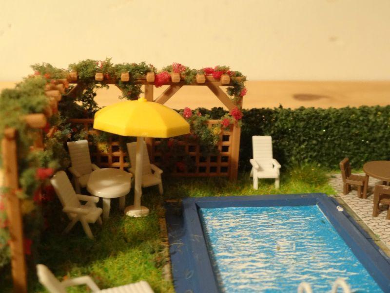 Am nagement du jardin d 39 une maison individuelle for Amenagement petit jardin avec piscine