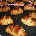Mini croissants Saumon 