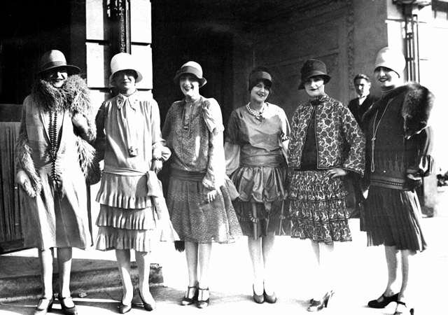 vetement femme 1918