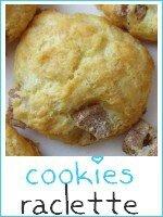 cookies salés saveur raclette - index
