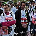 Sur le parcours de la 17ème édition des 33km500...