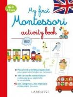 My first Montessori activity book couv