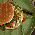 Burger vegetal au tofu soyeux brouille