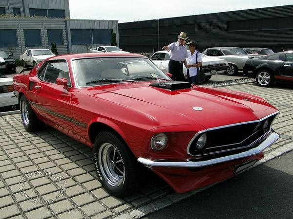 ford mustang mach1 fastback coupe 1969 a