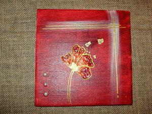 tableau rouge 20x20 2