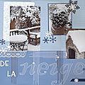 De la neige en hiver