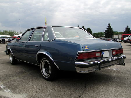 CHEVROLET Malibu Classic 4door Sedan 1978 Motoren und Power Lahr 2010 2