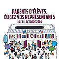 Parents d'élèves, élisez vos représentants (année 2014-2015)