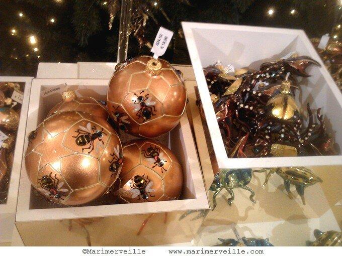Drôles de boules de Noël Le bon marché-Marimerveille