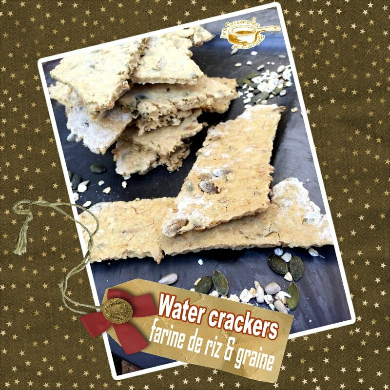 crackers farine de riz flocon d'avoine graines sans gluten(scrap)