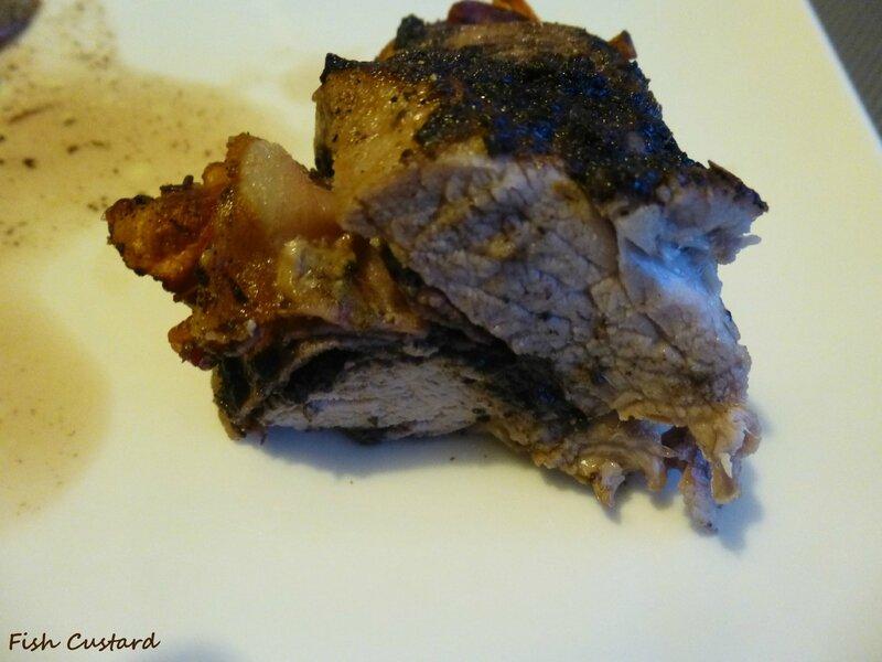 Filet mignon farci à la tapenade d'olives noires et jambon cru fumé (12)