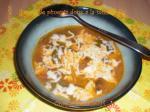 Chiles con queso (soupe de piments doux à la mozzarella) 0