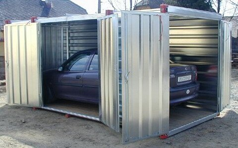 garage voiture 2 photo de photos box de parking. Black Bedroom Furniture Sets. Home Design Ideas