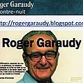 Un blogue dédié à roger garaudy