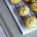 Muffins sans gluten fourrés au chocolat