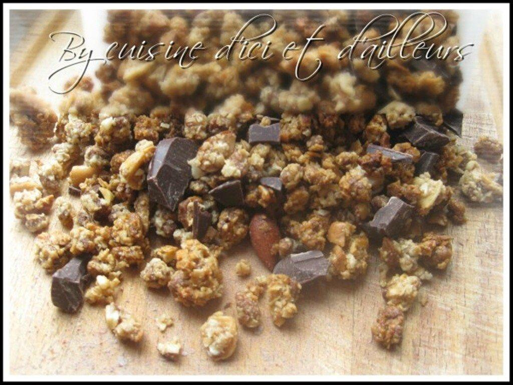 Granola maison (muesli)