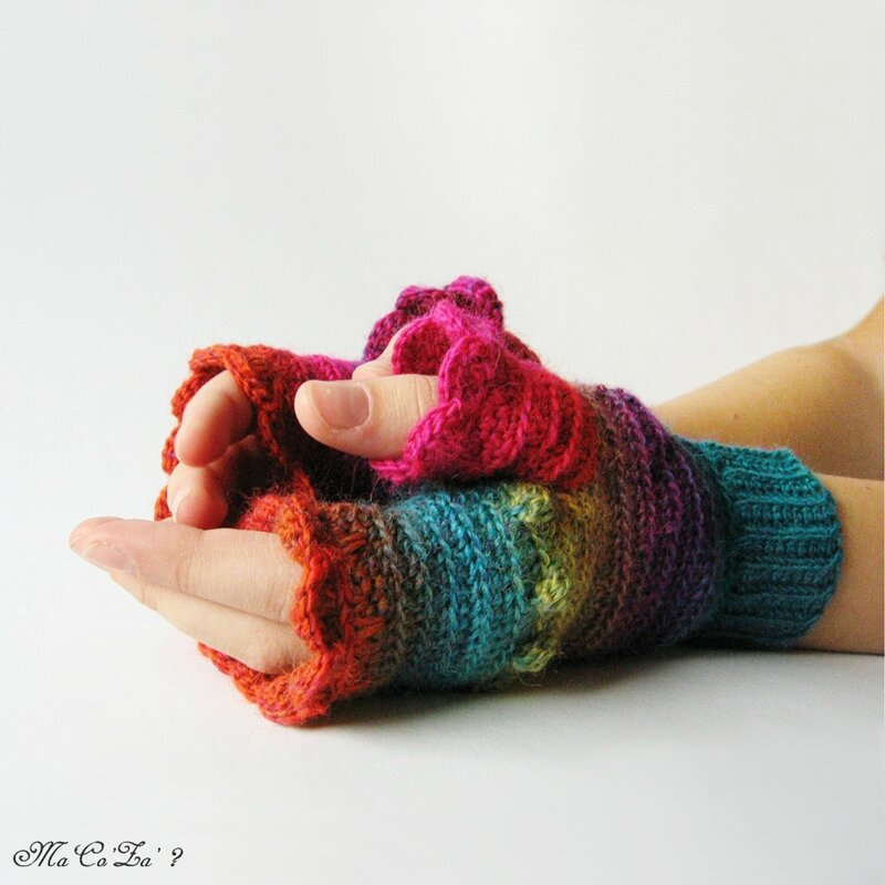 mitaine poems au crochet 4