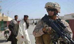 US-troops-on-patrol-in Afghanistan