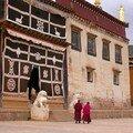 Temple bouddhiste à Zhongdian