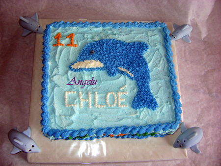 Moule Dolphin Cake