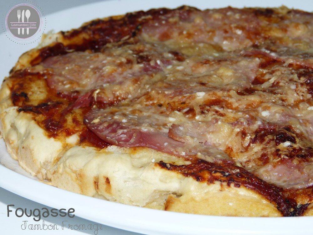 Fougasse Jambon-Fromage