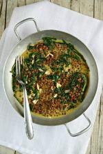 curry épinards lentilles