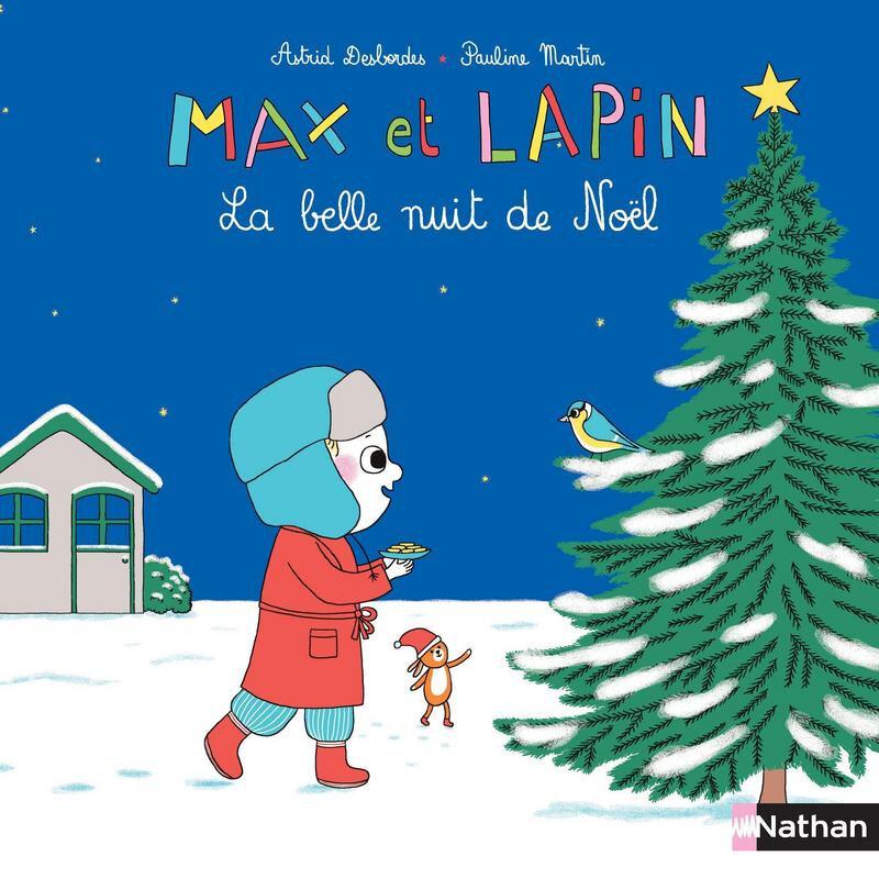 max et lapin la belle nuit de noel nathan lilousshark