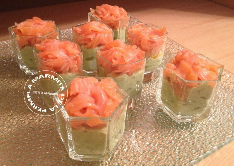 Verrines Saumon-Avocat (3)