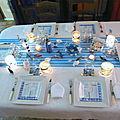 TABLE MER ET DAUPHIN