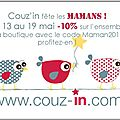 Chez Couz'in on fte les mamans !