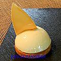 Sablé breton chibboust citron miel 1